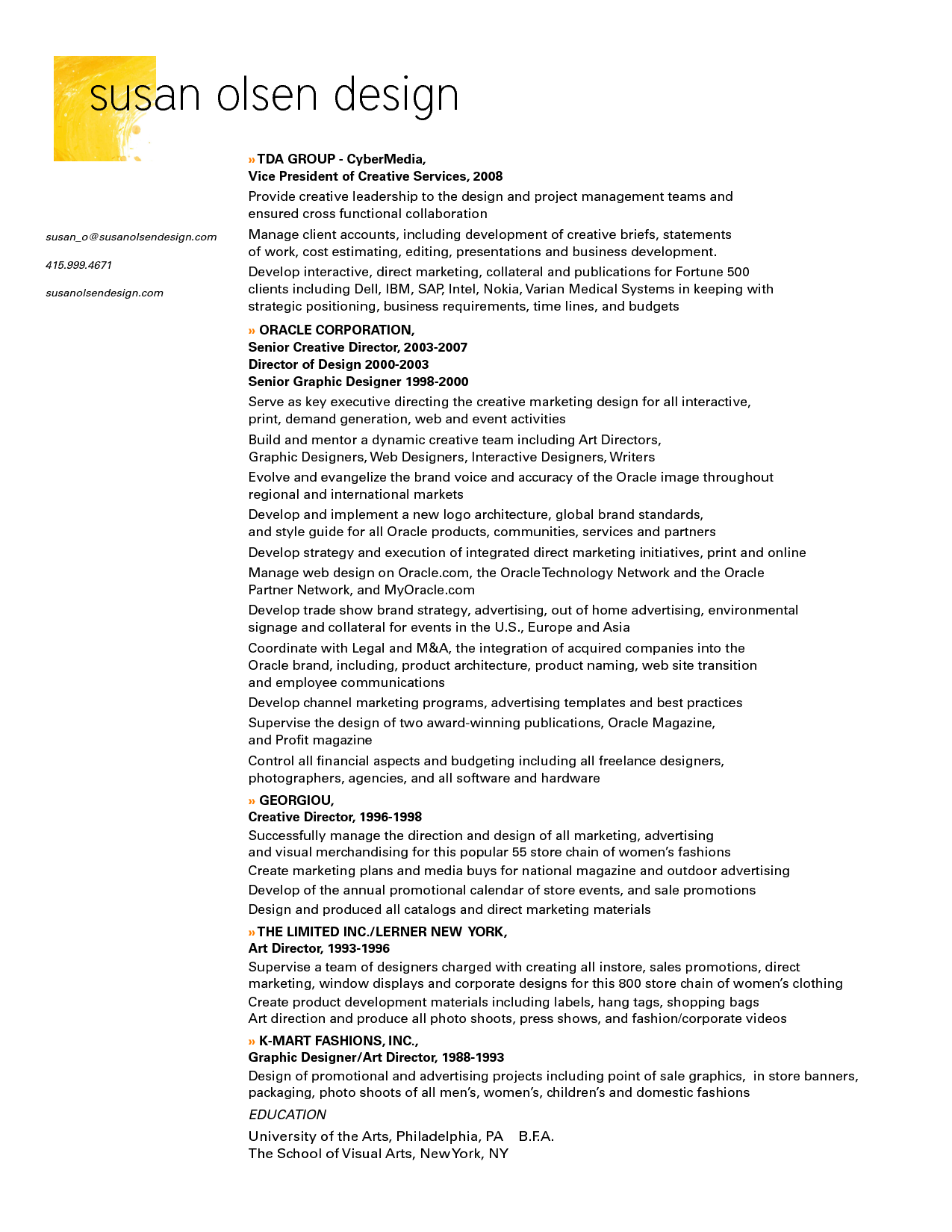 graphic design resume sample graphic designer job