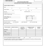 sample job employment application form template employment