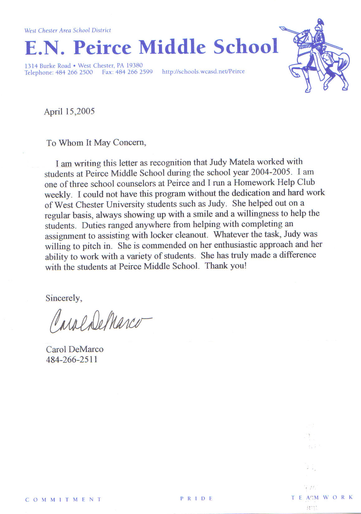 letter of recommendation for teacher colleague teacher