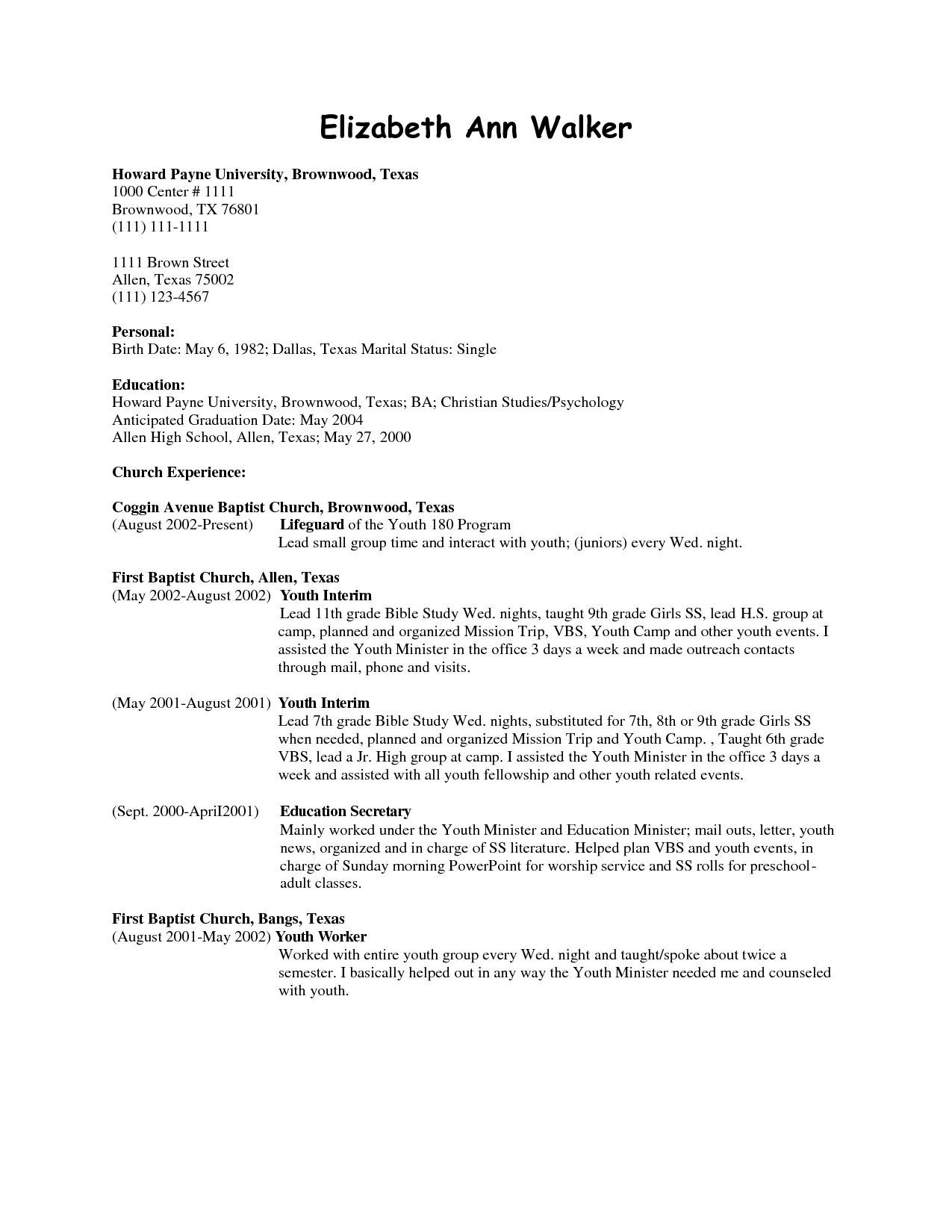 Office Cleaning Resume Forteforic