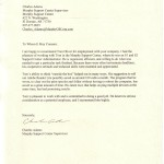 professional reference letter template charlie adams letter of reference