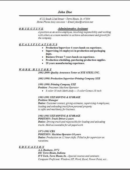 Sample Administrative Assistant Resume Objective  Petit