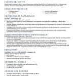 what to put for objective on a resume Resume Template NeoClassic Dark Blue