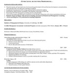 Best Auditor Resume Templates & Samples on Pinterest entry level accounting professional