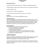 Customer Service Skills Resume excellent customer service skills resume