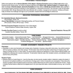 Entry Level Resume Sample recent honours graduate