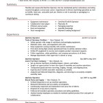 Cnc Machine Operator Sample Resume Objective Qualifications