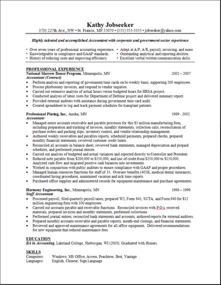 Good Resume Layout  Free Resume Templates Primer  Best