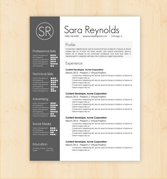 2016 Design Resume Layouts - Samplebusinessresume.Com