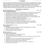 Sample Resume Entry Level Pharmaceutical summary and professional experience