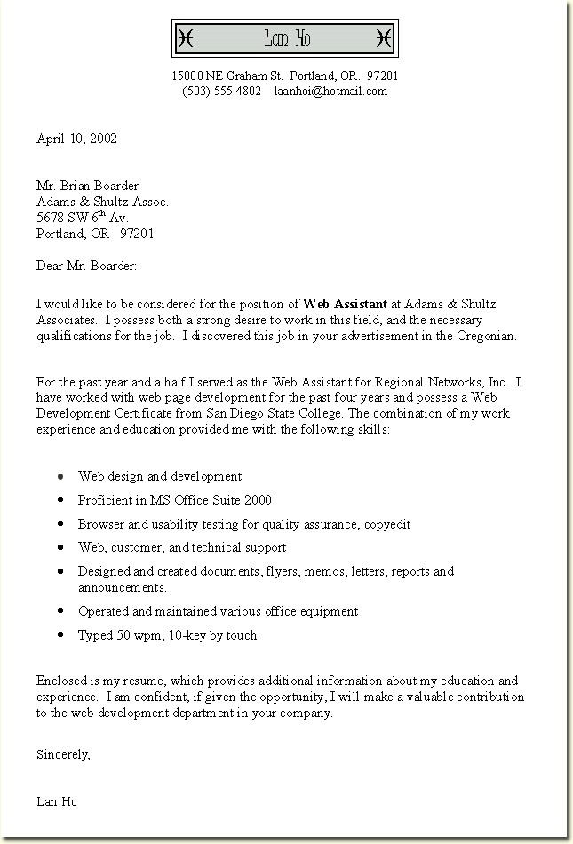 Letter Example Executive Or Ceo Careerperfectcom. Cover Letter For