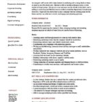 marketing assistant resume personal summary & personal skills