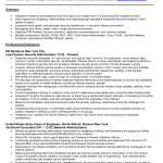 resume sample for entry level engineer Resume Templates