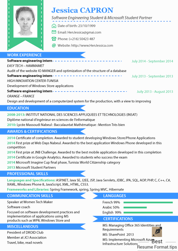 Newest Resume Format. Format A Resume Updated Updated Format A ...