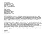 Customs Broker Cover Letter Sample