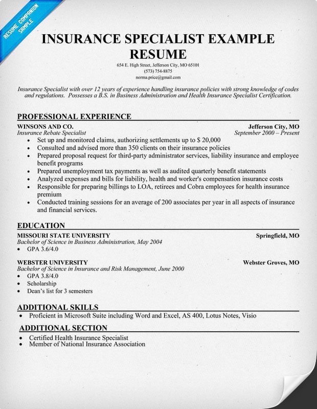 Sample Resume For Contract Specialist - Gse.Bookbinder.Co