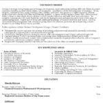 Insurance Broker Resume Sample resume objective samples for administrative assistant