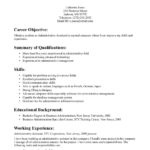 Insurance Clerk Resume Emergency Exle Best career objective