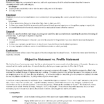 What Is A Good Objective For A Resume Best Template