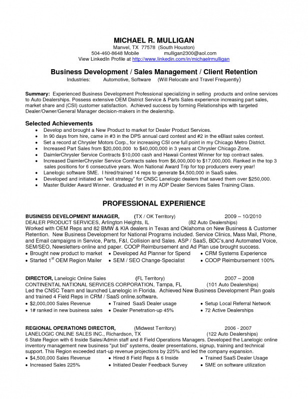 Car Insurance Manager Resume Sample Samplebusinessresume