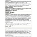 biotech job descriptions salary ranges material handler job description