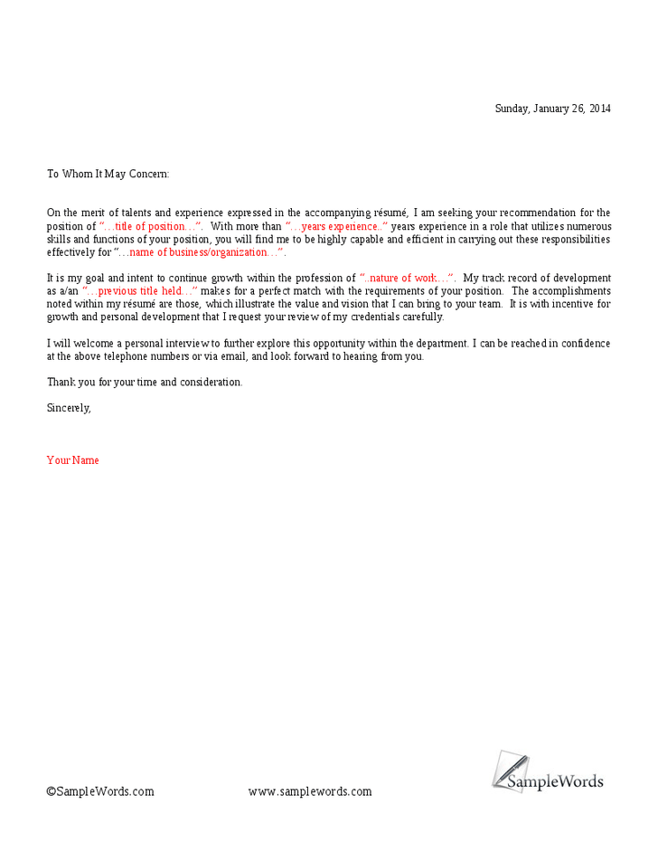 cover letter to whom it may concern to whom it may concern cover letter samplebusinessresume 1161