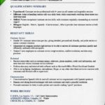 customer service call center fuctional resume sample qualifications summary