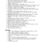 resume building construction materials job description and soft skills