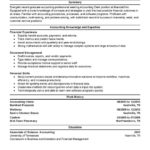 Accounting Clerk Resume Sample finance summary