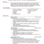 Engineering Resume Examples and sample skills highlights
