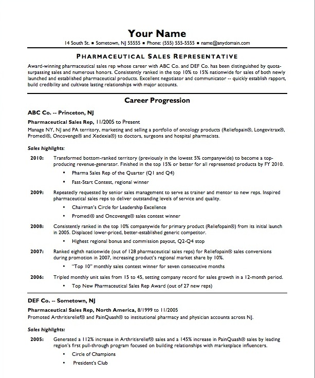 basic resume template copy paste free for sales representative rep pharmaceutical to and