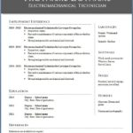 Free Sample Resume Download In Word Format