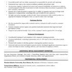 Good Resume Skills For Retail resume skills for retail sales associate