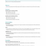 Hostess Resume objective skills and abilities