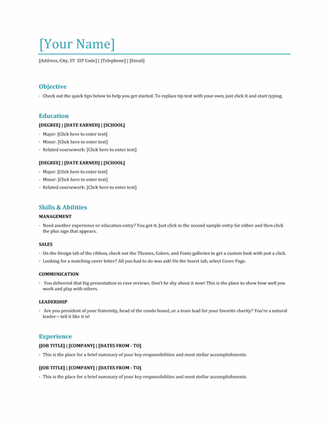 sample resume for hostess resume cv cover letter