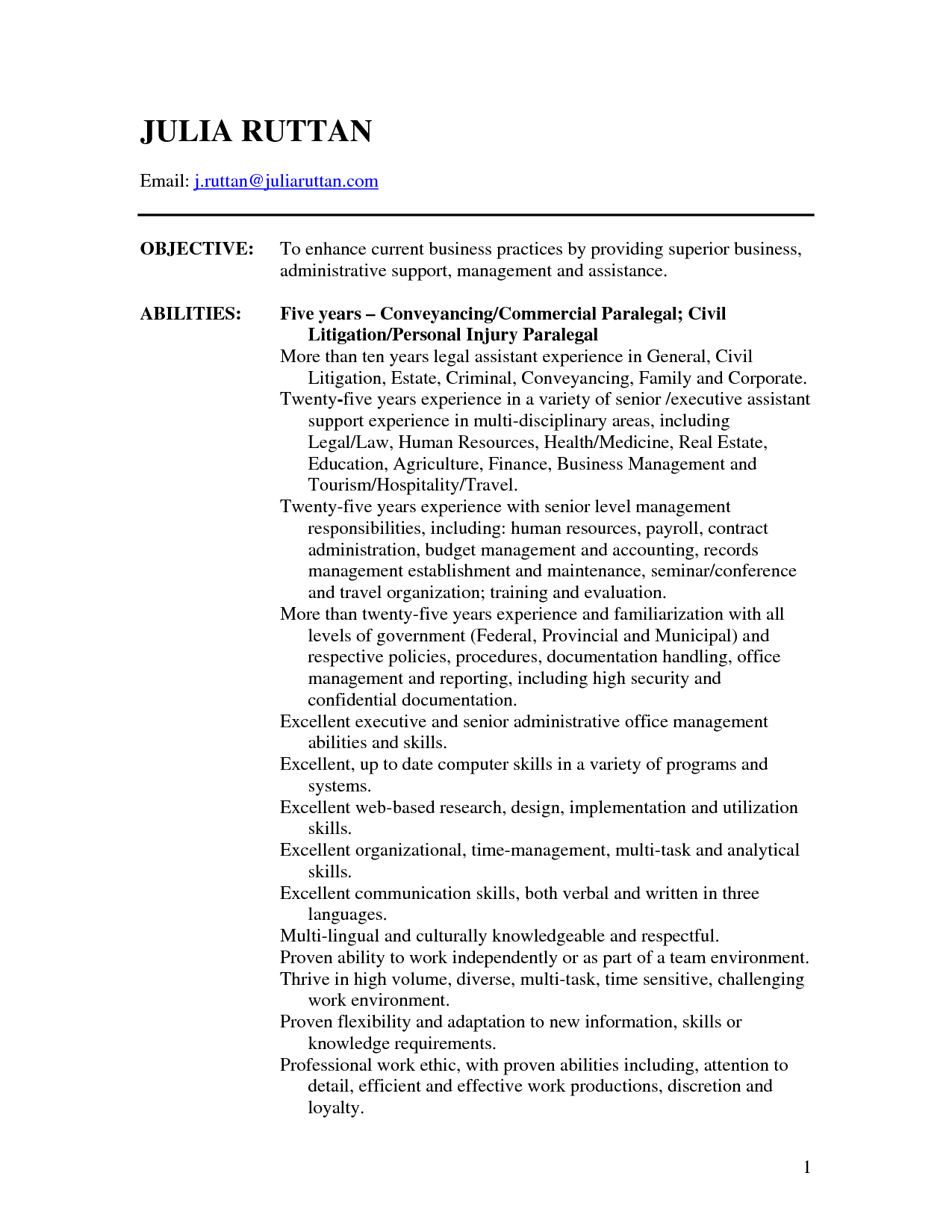 Sample Resume Attorney Resume Template Info General Counsel Resume Example