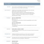 Professional Resume Template Resume Templates Free Download
