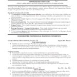 Professional Resume Templates Sample and Experienced Educator Resumes Templates with Highlights
