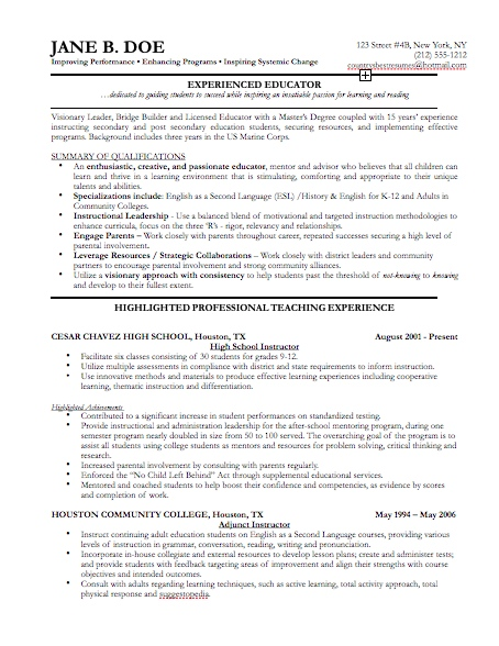 Resume Cover The Resume Collection Template For Apple Pages Pages