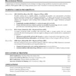 Registered Nurse Resume Templates nursing career progression