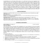 sample resume experience senior software engineer - Senior Software Engineer Sample Resume