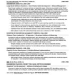 Senior Software Engineer Sample resume