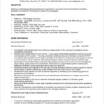 Software Developer Experienced Software Engineer Resume
