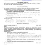 Web Developer Resume professional objective qualifications profile