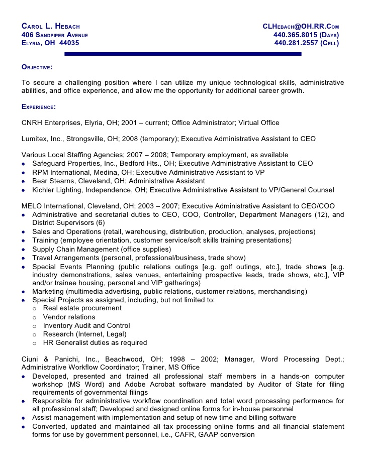 Example Of Paralegal Resume - Madrat.Co