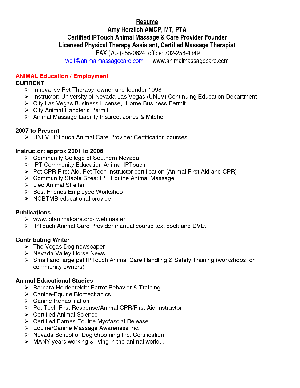 Physical Therapist Resume Template Occupational Therapist Resume Sample