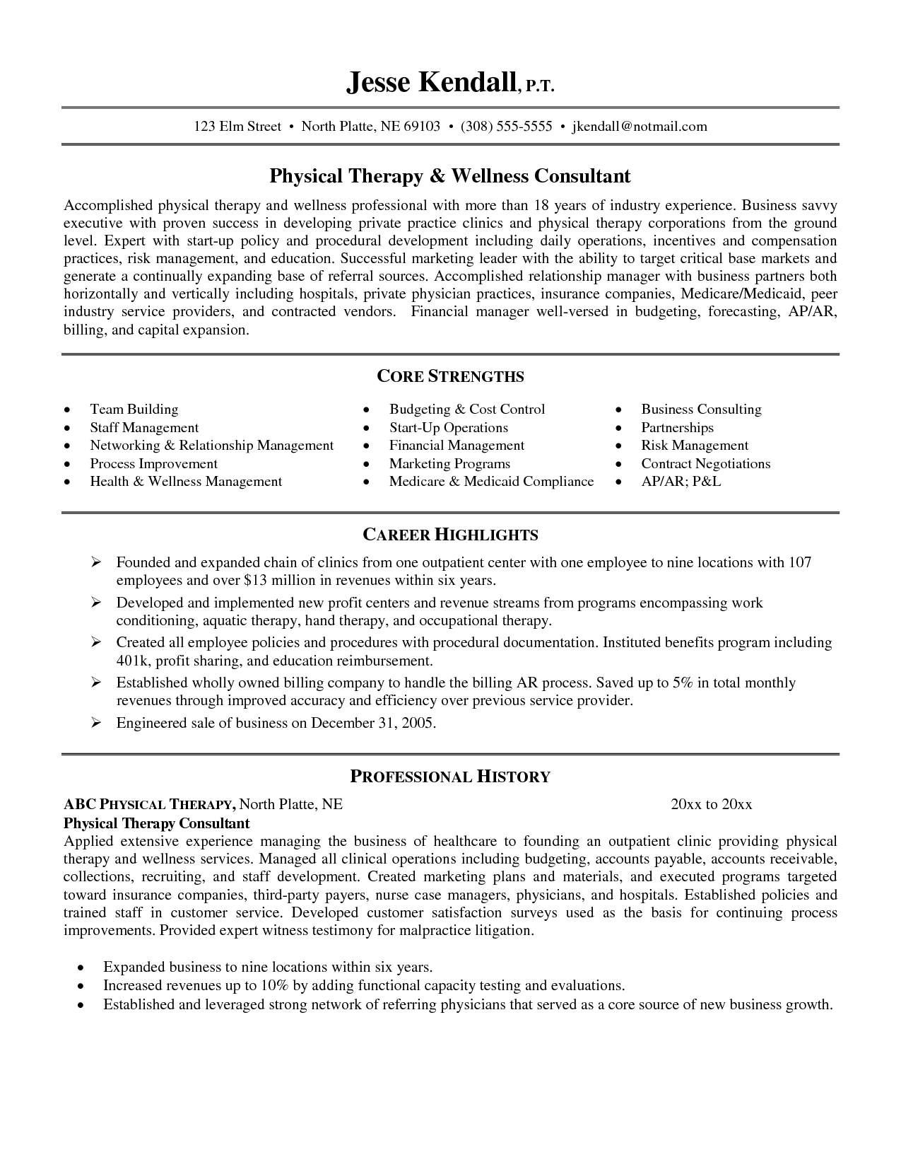 Physical Therapist Assistant Resume Examples Assistant ...