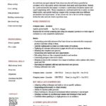 sales associate resume skills personal summary and work experience