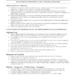 sample resume workers compensation paralegal resume professional profile