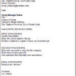 template cover letter examples free classic